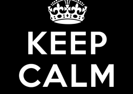 keep calm & deel